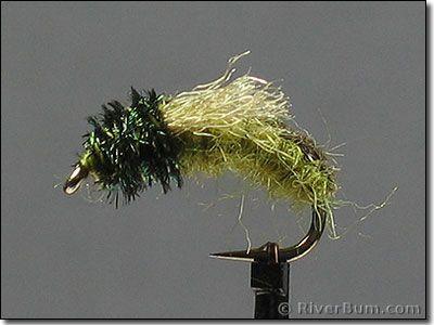Green Caddis Emerger