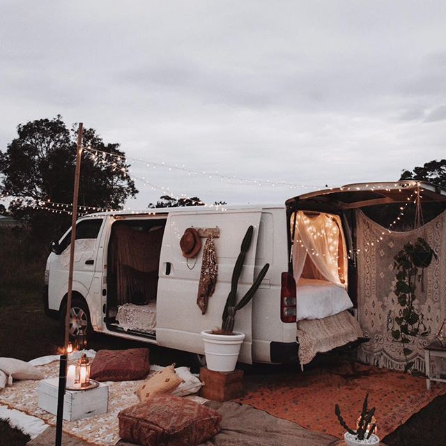 Festival van set-up ✨ Spell Byron Bay