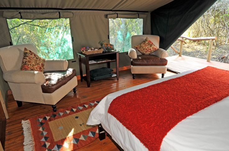Sibuya Game Reserve Forest Camp #luxurytent #glamping #riversedge #gamedrive #Big5 #KentononSea, #EasternCape, #SouthAfrica
