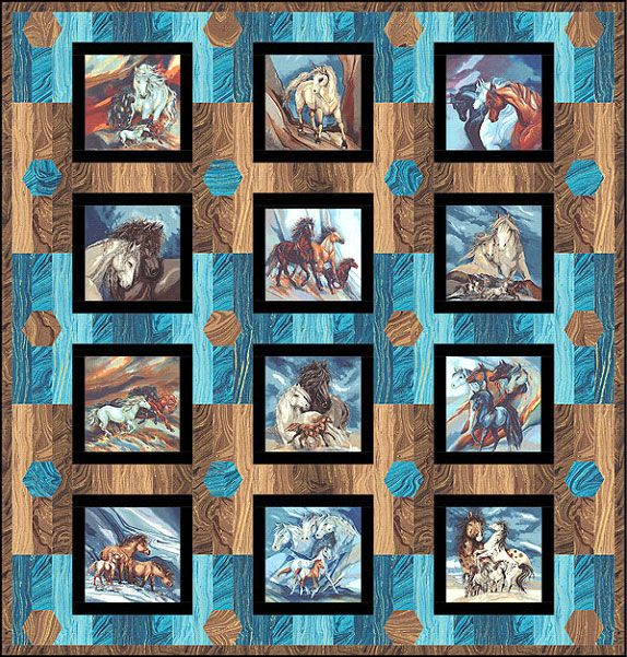 344 best wildlife quilts images on Pinterest Wildlife quilts, Quilt block patterns and Quilt ...