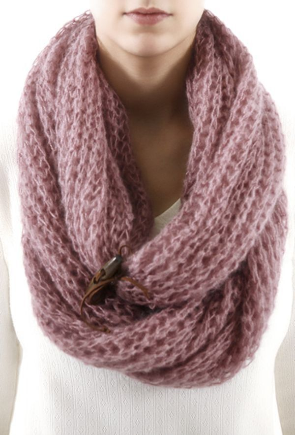 Mohair Knitted Infinity Scarves,Newest Pink Mohair Scarf,Knitted Infinity  Scarves for Girls in. Warm And CozyKnit ...
