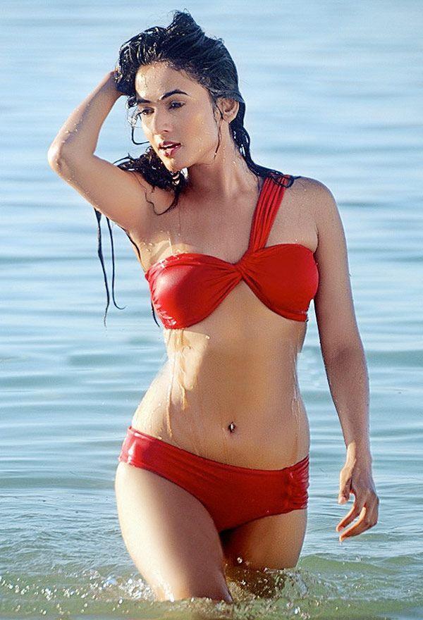 New Bikini Hotties: Sasheh Aagha, Alia Bhatt, Veena Malik and Sonal Chauhan HOT…