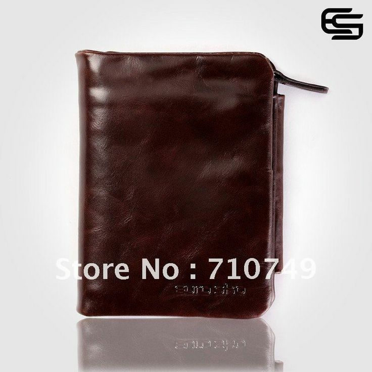 Free shipping 100% Quality Guaranteed Italian Imported full grain Genuine Cowhide leather wallet for man new Fashion men purse $28.00