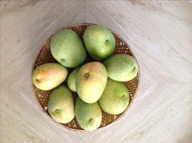 మామిడి పళ్ళు ...Mangoes .. naturally rip