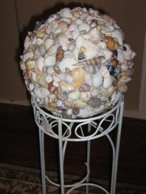 Sea Shell Bowling Ball.....