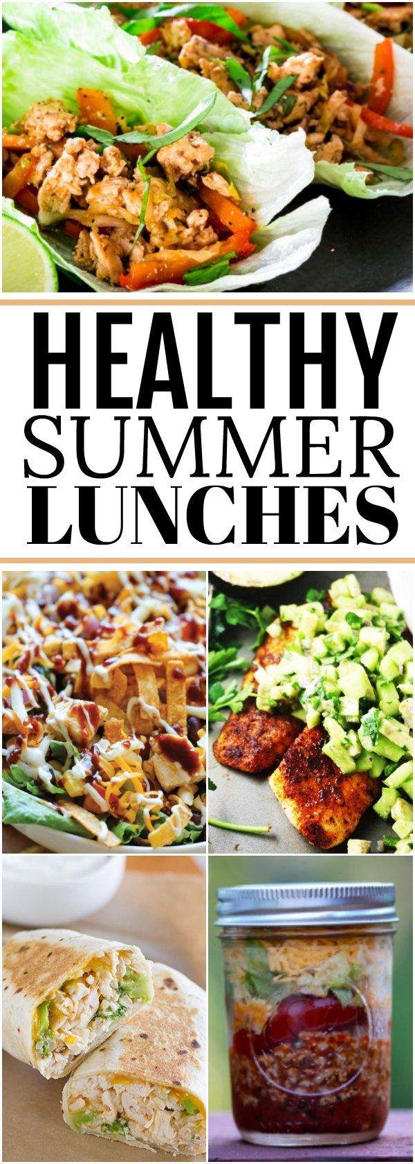 Healthy lunch recipes- Summer lunch recipes you can make quickly!
