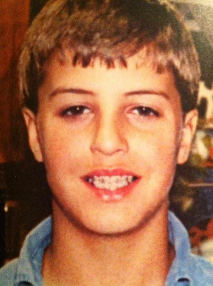 Young Luke Bryan! a little cutie and still is =)