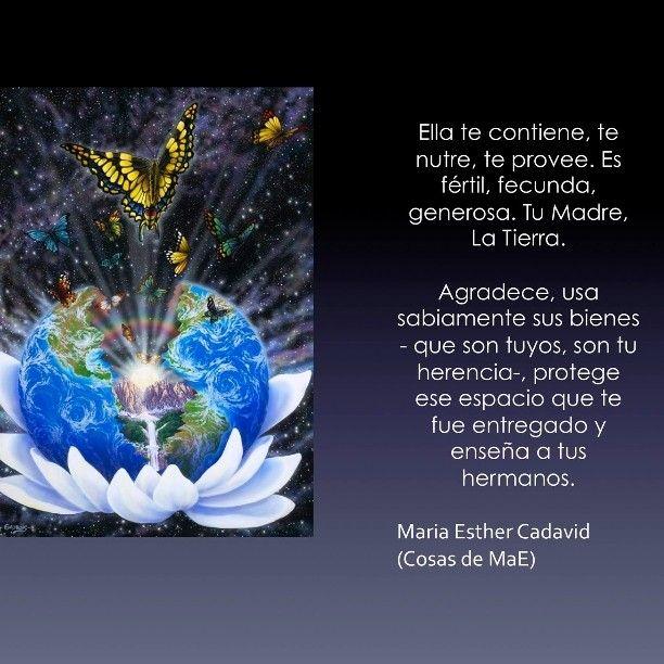 Ama a La Tierra, Tu Madre #Earth #Gea #Gaia #Madre