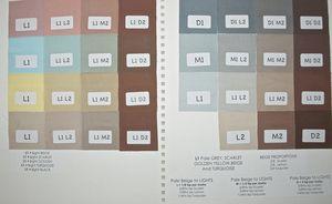 Leslie Morgan color mixes