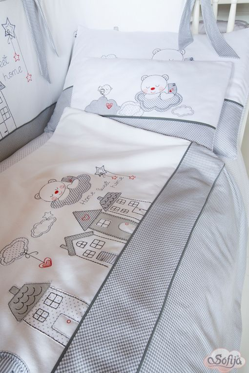 Pościel do łóżeczka dziecięcego Muffi  www.sofija.com.pl #dziecko #pościel #bawełna #pokójdziecka #sen #spanie #kids #kinder #baby #bettwäsche #ребенок #номерребенка