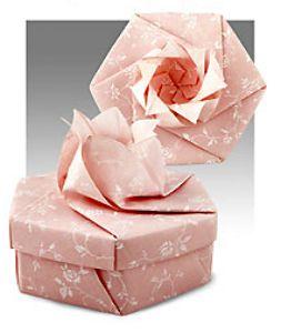 Caixas de Presente de Origami - Die habe ich unlängst gefaltet - einfach nur ein Traum