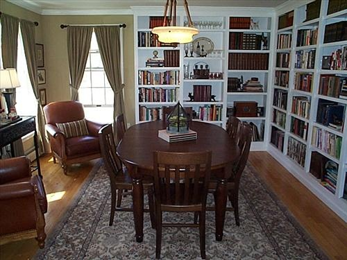 1000 Images About Library Dining Room On Pinterest