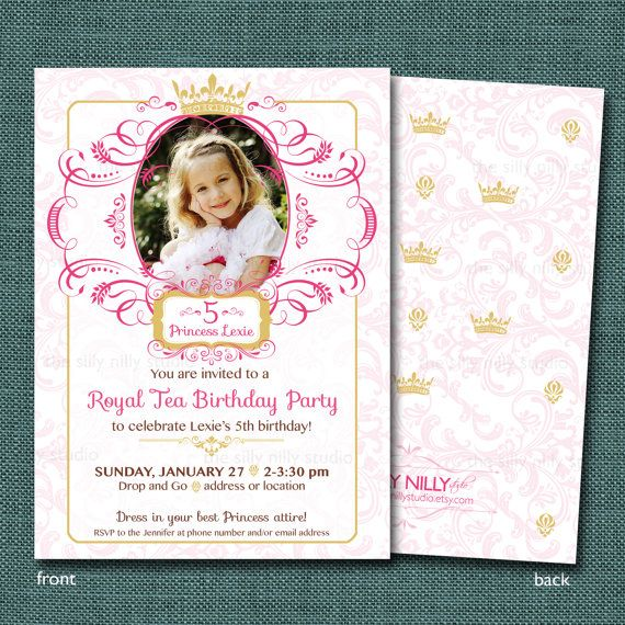 Princess Invitation is perfect invitations layout