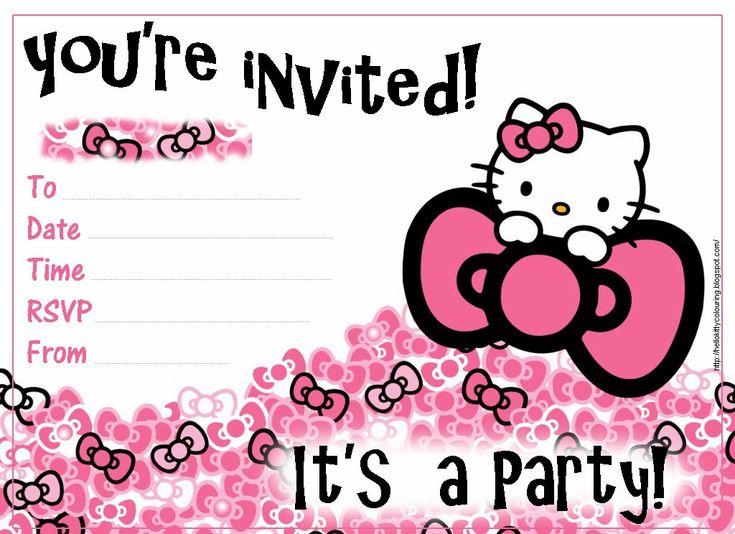 Best 25 hello kitty invitation card ideas on pinterest hello pretty practical mom free printable hello kitty invitations stopboris Gallery