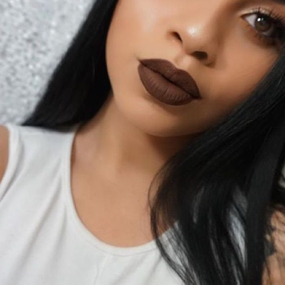 Matte brown lipstick •Brand new (not mac) •Highly pigmented lasts all day (no brand) •Dupe of true brown k of the kylie lip kit collection  •Color: brown MAC Cosmetics Makeup Lipstick