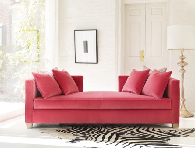 Cynthia Rowley's Coco Daybed. available at walter e. smithe furniture