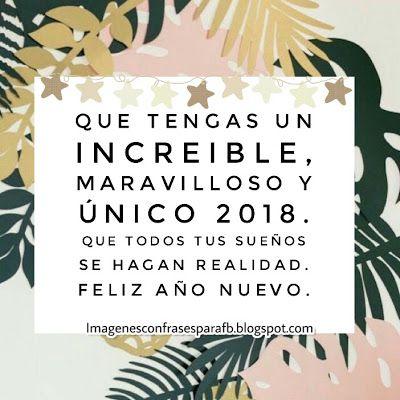 Feliz Año 2018 #Frases para dedicar con mucho #Amor en este nuevo Año