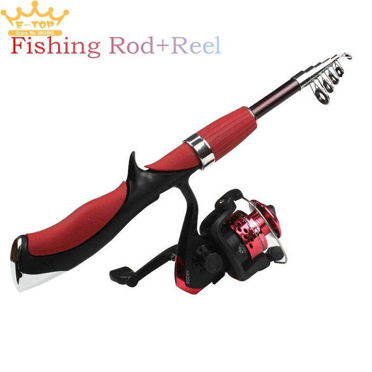 1.4M Mini Portable Ultralight Rod Pole Telescopic Fishing Rod Fishing Reel Ultra-Angler