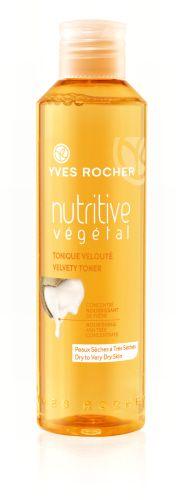 Velvety Toner  Tone your skin while you're nourishing it! The Velvety Toner eliminates impurities at the same time as it softens and tones. Result: skin is left supple, radiant prepped for moisturization. #yvesrocherbeauty #botanicalinnovation