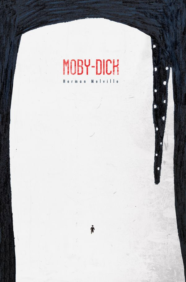 Moby Dick by Herman Melville | book cover concept by Umberto Scalabrini #design