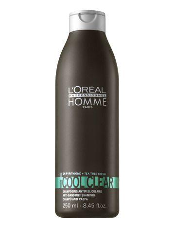 Loreal Homme Cool Clear Şampuan 250 ml - Menthollü Kepek Şampuanı Kepekli ve devamlı kepek üreten saç derisi için özel olarak geliştirilmiş ferahlatıcı şampuandır. İçeriğindeki menthol özü, saça ferah bir his verir. Saç derisinde ve saç tellerindeki kepeği saçtan arındırarak temizler. Saç derisinin tekrar kepek önlemesini önleyerek sağlığına kavuşturur. Nemlendirme özelliğine sahiptir. Günlük kullanıma ve tüm saç tipleri için kullanımı uygundur. www.elizehair.com