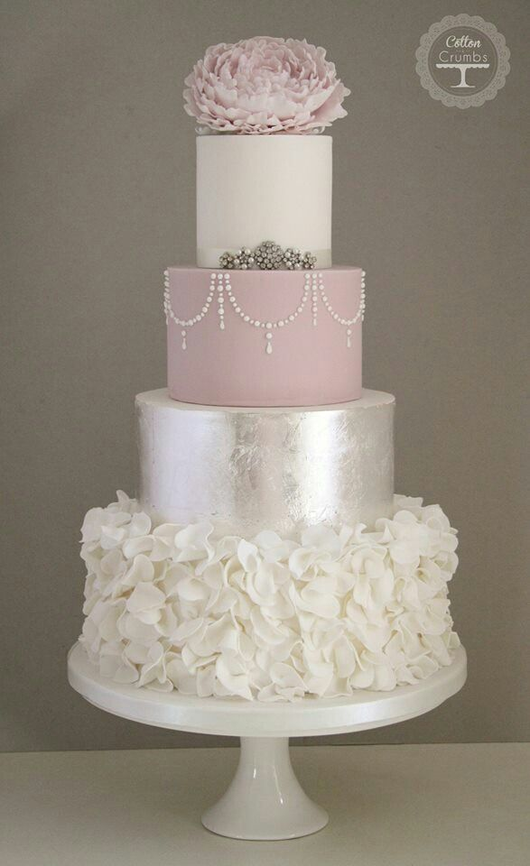 By Cotton and Crumbs. OMG just love this! So elegant and romantic.