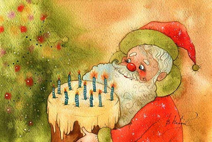 Веселые новогодние открытки виктории кирдий, открытка для мамы