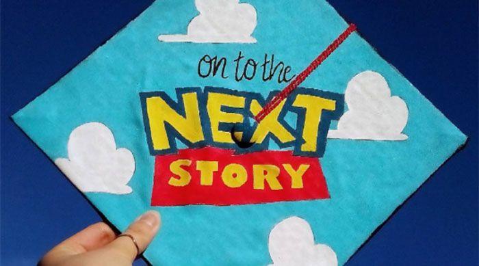 17 of the Most Magical Disney Grad Caps https://www.sweetyhigh.com/read/creative-disney-graduation-caps-051517
