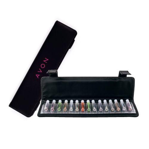 Illatminta tartó, hogy megmutathasd barátnőidnek az összes kedvencedet - egy tolltartó méretű dobozban :)