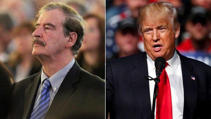 El expresidente mexicano Vicente Fox pide disculpas a Donald Trump - RT