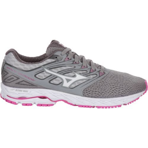 Mizuno Women's Wave Shadow Running Shoes (Grey/Pink, Size 8) - Women's Running Shoes at Academy Sports