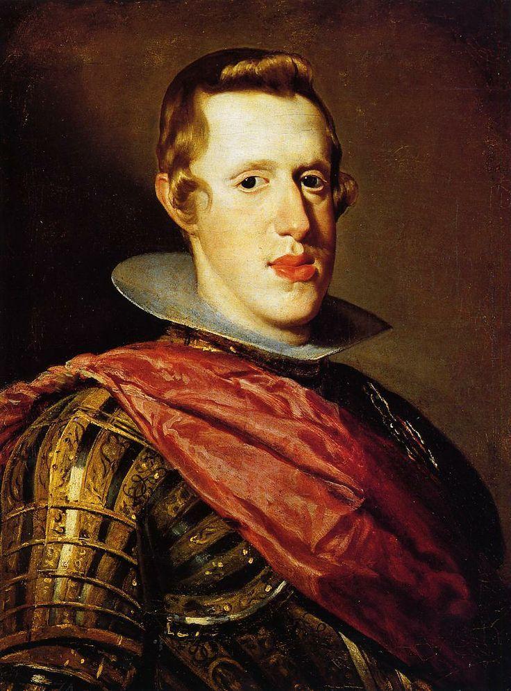 Rei D. Filipe III de Espanha e Portugal  Pintor: Velazquez. Editorial: Real Lidador Portugal Autor: Rui Miguel