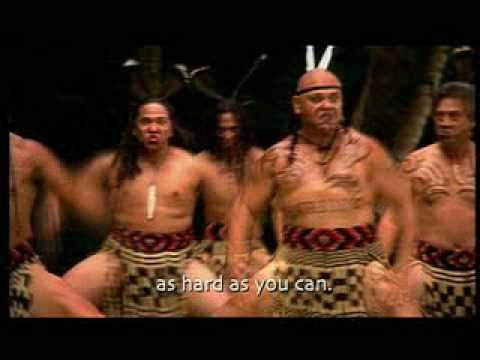"The Maori tribe of New Zealand is a good example of the Polynesian. here is their famous traditional dance ""Haka"""