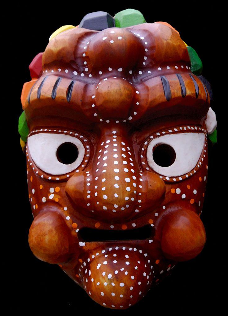 Korean Mask | File:Korean traditional mask at Insadong, Seoul-01.jpg - Wikimedia ...