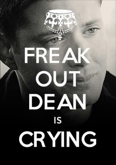 It kills me anytime Sam, Dan, or Bobby cry. And when Cas looks pitiful every time he tries to do the right thing and it bites him in the booty.