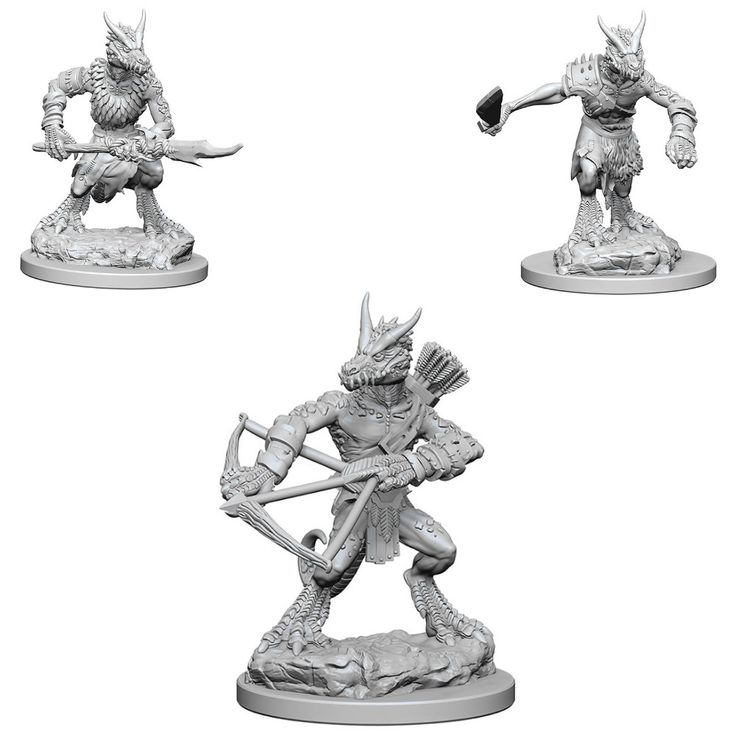 D&D Unpainted Nolzur's Marvelous Miniatures Kobolds