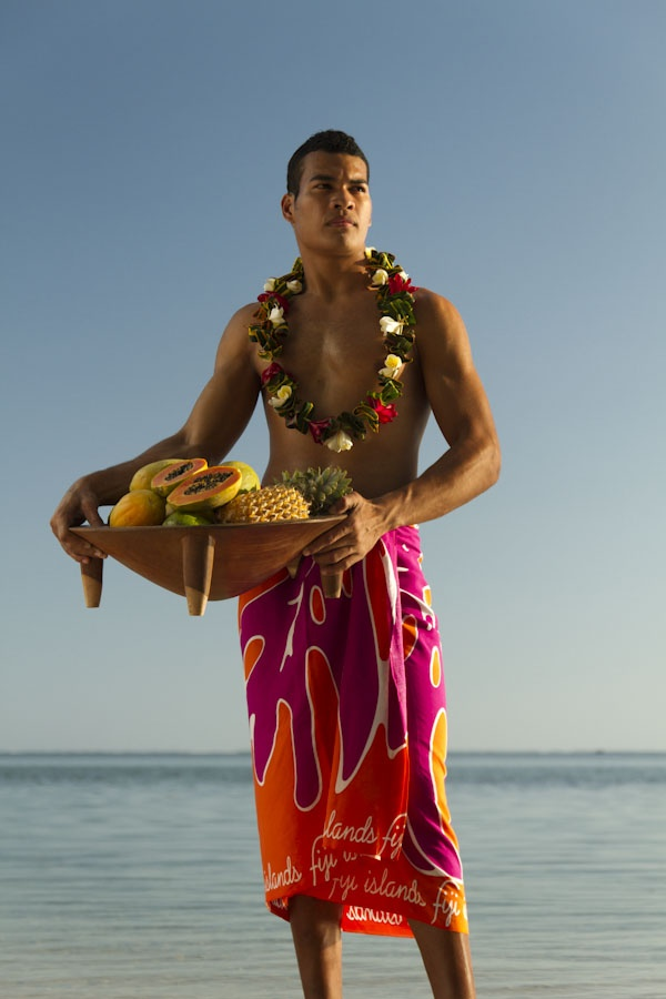 Lawrence in Sulu/Sarong by Robert Kennedy for Fiji Market