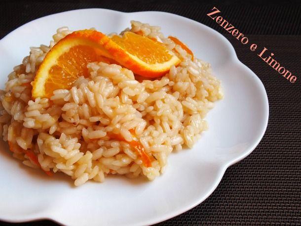 risotto all'arancia -