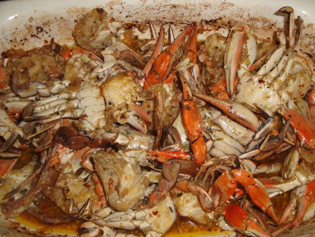 Garlic crab recipe virginia san francisco and nice for Blue crab fishing