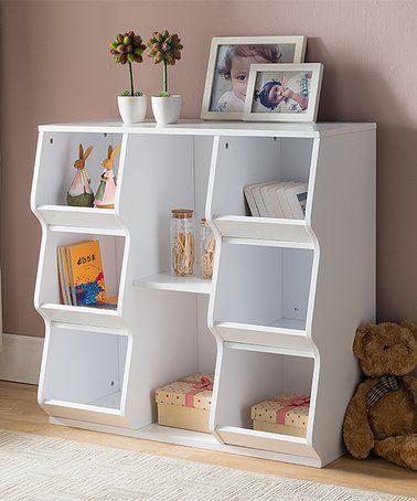 Loving This Wood Bookshelf Storage Cabinet On Zulily Zulilyfinds