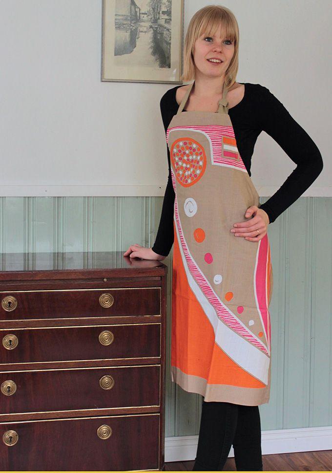 Apron - Kotka Orange-
