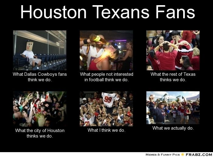 We love our #Texans. #Football