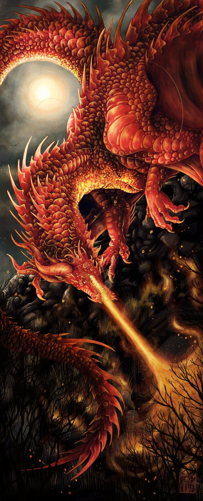 Smaug by *ColletteJEllis on deviantART