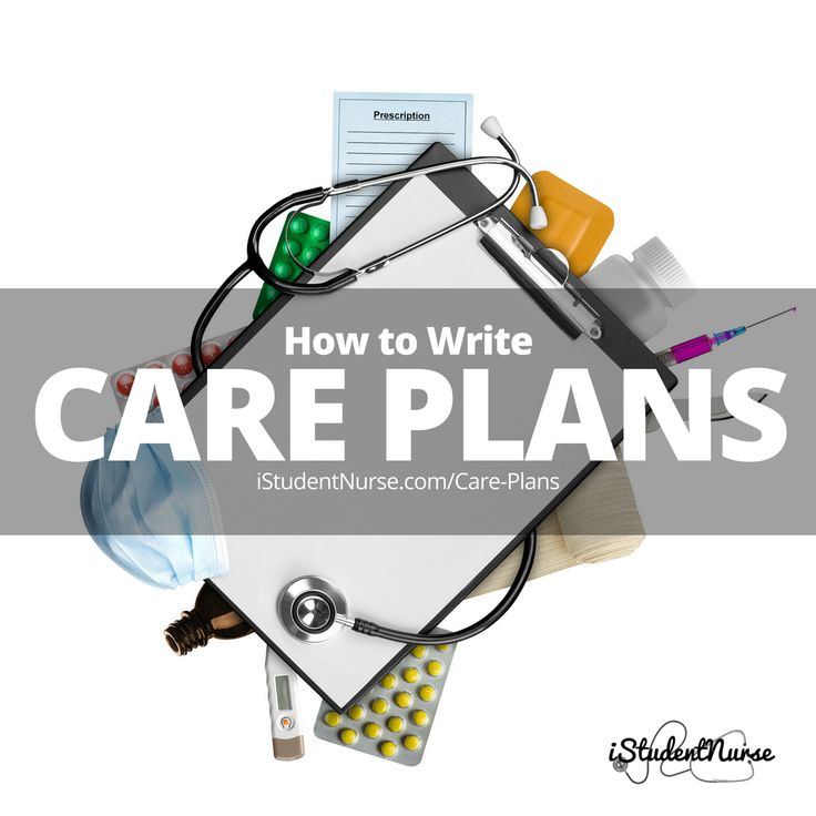 how to write a nursing care plan