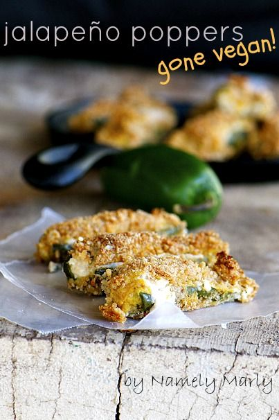 Jalapeno Poppers are a favorite appetizer for vegans and gluten-free eaters too!