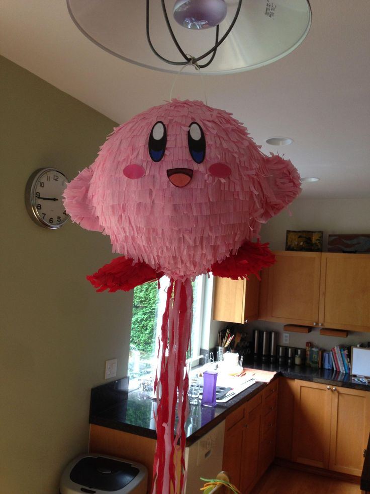 DIY Kirby Pinata - Imgur