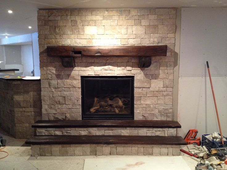 Red Slate Southwest Style Fireplace Mantel Google Search