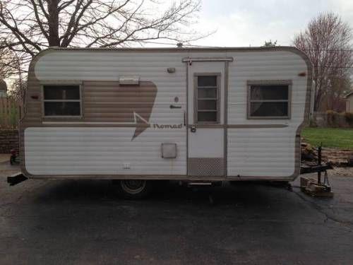25 best vintage 1964 nomad travel trailer camper images on pinterest. Black Bedroom Furniture Sets. Home Design Ideas