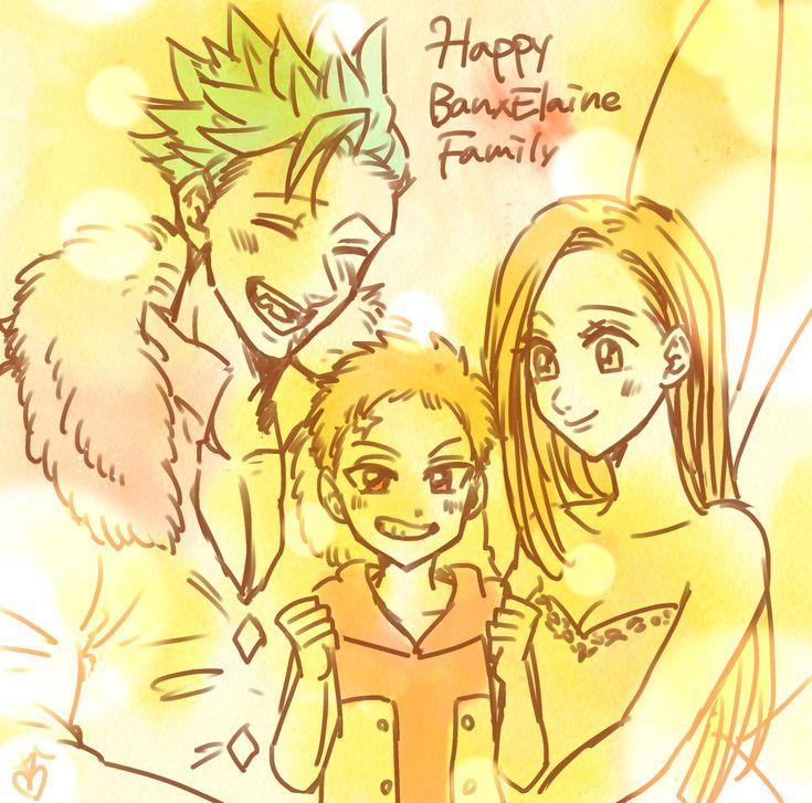 Ban, Elaine y Lancelot em 2020   Nanatsu, 7pecados ...