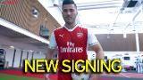 Sead Kolasinac signs for Arsenal